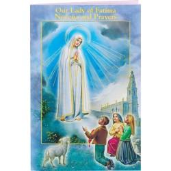 Our Lady Of Fatima Novena Book