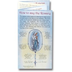 Mysteries Of The Rosary Folder