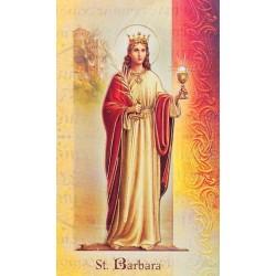 Biography of St Barbara