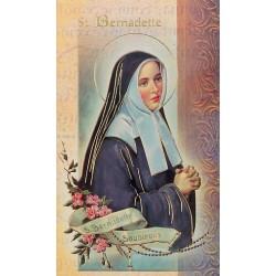 Biography of St Bernadette