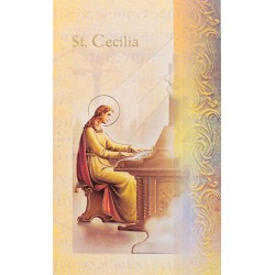 Biography of St Cecilia