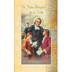 Biography of St John Baptist de la Salle