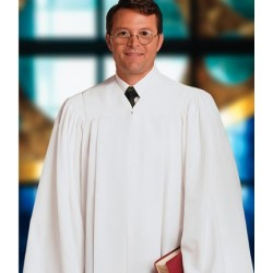 Plymouth Clergy Robe - White