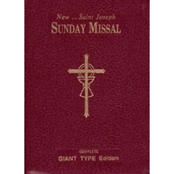 St. Joseph Sunday Missal (Giant Type Edition)
