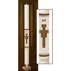 San Damiano Paschal Candle