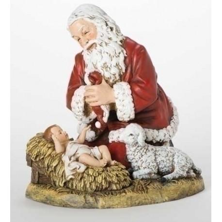 "13"" Kneeling Santa"