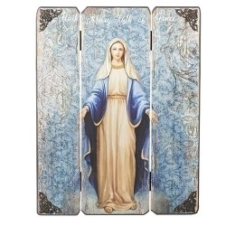 "17"" Lady of Grace Panel"