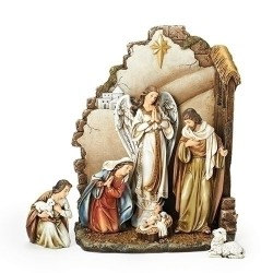 Nativity W/Back Wall