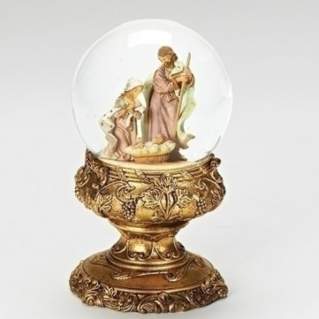 Holy Family Glitter Dome