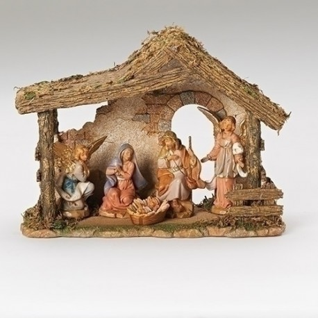 Nativity Set w/Stable