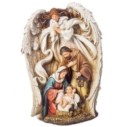Angel over Holy Family