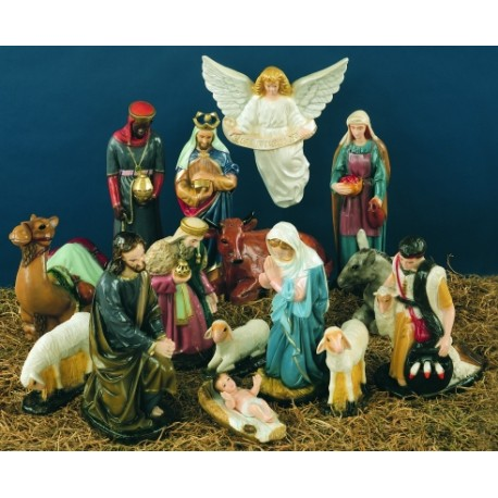 Nativity Set-16 Piece.