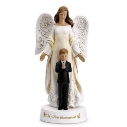 Communion Angel with Boy
