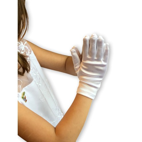 First Communion Gloves-Medium