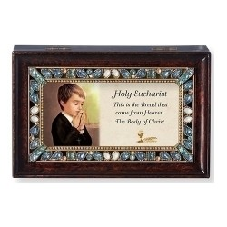 Holy Eucharist Keepsake Box