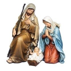 Kneeling Holy Family