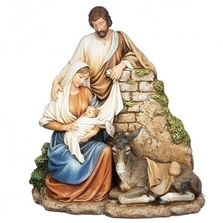 Holy Family with Donkey