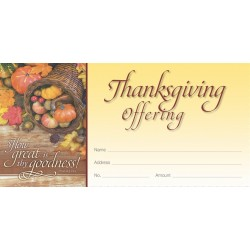 Thanksgiving Offering Envelope