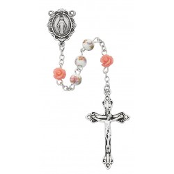 Rosary-Pink Flower