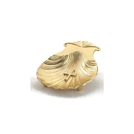 Gold Plated Baptism Shell