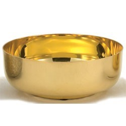 24K Gold Plated Open Ciborium - 350 Host