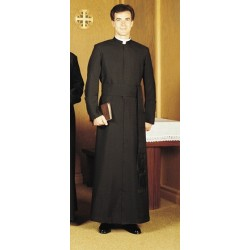 Year Rounder Cassock - Semi-Jesuit with Cincture