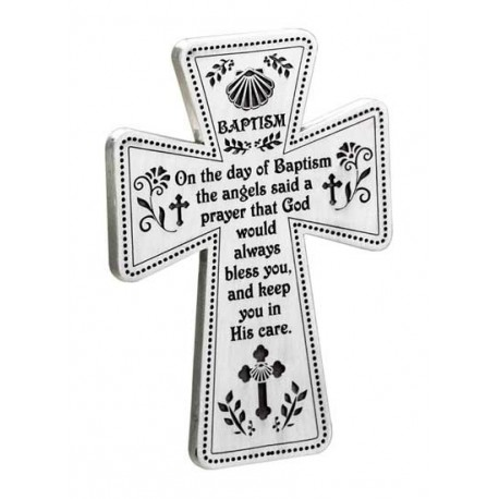 Pewter Baptism Cross