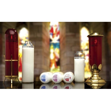 8 Day Glass Sanctuary Lights Sacralite