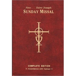 St. Joseph Revised Sunday Missal w/ribbons