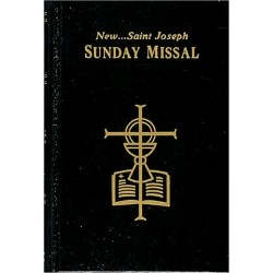 St. Joseph Revised Sunday Missal - Black Hardcover