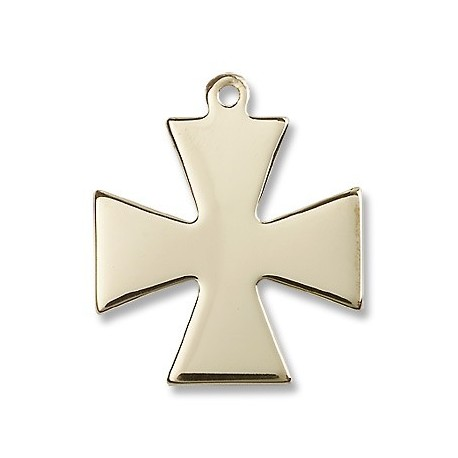 Gold Filled Surfer Cross Pendant