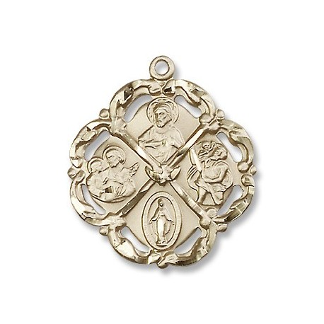 Gold Filled 5-Way Pendant
