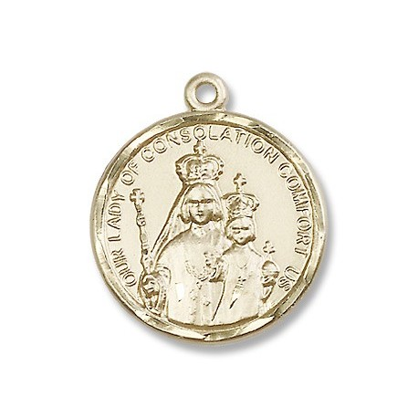 Gold Filled O/L of Consolation Pendant