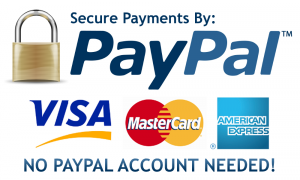 Paypal - Pay by Credit Card