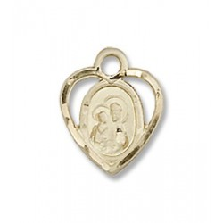 Gold Filled O/L of Perpetual Health Pendant