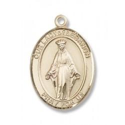 Gold Filled O/L of Lebanon Pendant