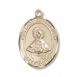 Gold Filled O/L of San Juan Pendant