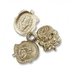 Gold Filled Rosebud Pendant