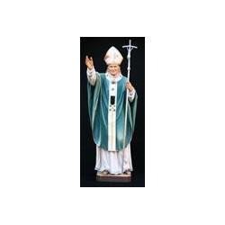 Pope John Paul II - Woodcarved