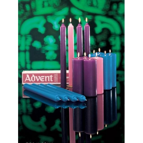 Advent Candles - Church Sets (Cathedral)