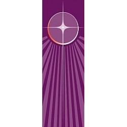 Advent Star Banner