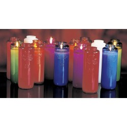 6-Day Glass Devotional Candles
