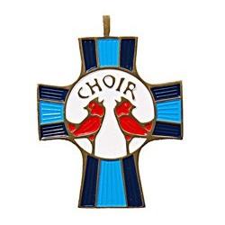 Choir Members Cross