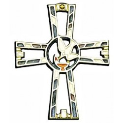 Lamp of the Spirit Wall Cross