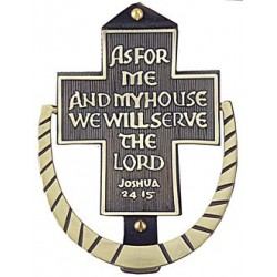 As For Me and My House Door Knocker
