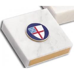 Episcopal Shield 3x3 Paperweight