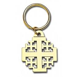 Jerusalem Cross Key Ring