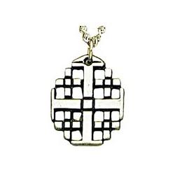 Jerusalem Cross - Sterling Silver