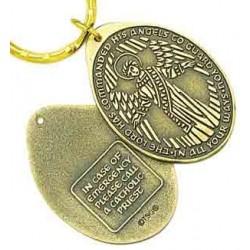 Catholic Guardian Angel Key Tag