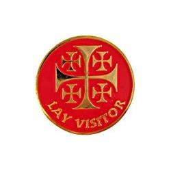 Lay Visitor Pin